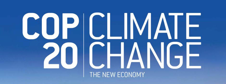 COP 20 Webpage Photo