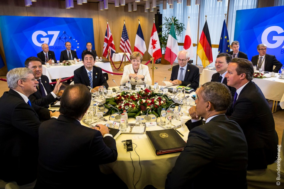G7 Leaders Brussels